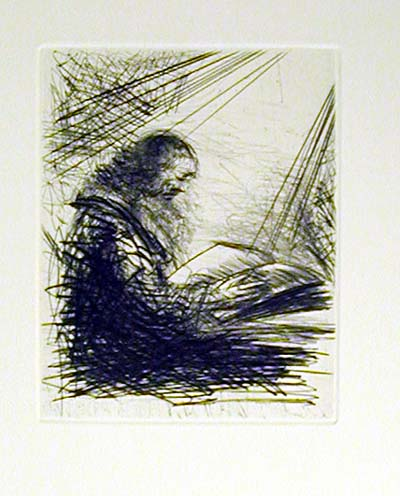 Salvador Dali - Faust - Faust lisant