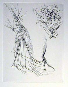 Salvador Dali - Faust - Le spectre a la rose