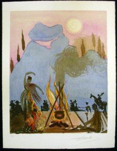 Salvador Dali - Carmen - Carmen Sings the Gypsy Song