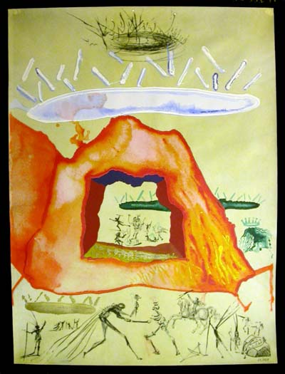 Salvador Dali - Alchimie des Philosophes - The Crucible of the Philosopher