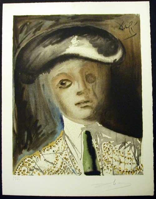 Salvador Dali - Carmen - Portrait of the Bullfighter Hero, Escamillo