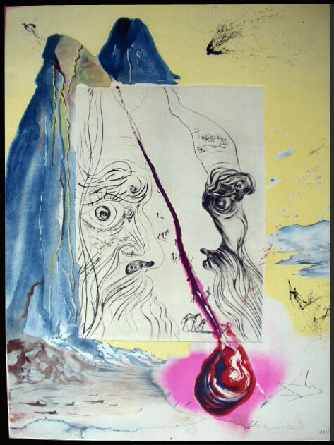 Salvador Dali - Moise et Monotheisme - The Tear of Blood