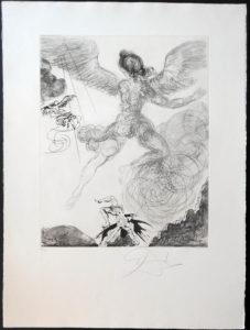 Salvador Dali - The Mythology - Icarus