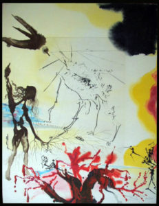 Salvador Dali - Moise et Monotheisme - The Famine