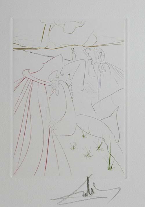 Salvador Dali - Le Decameron - La ressuscitee