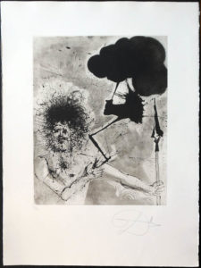 Salvador Dali - The Mythology - Jupiter