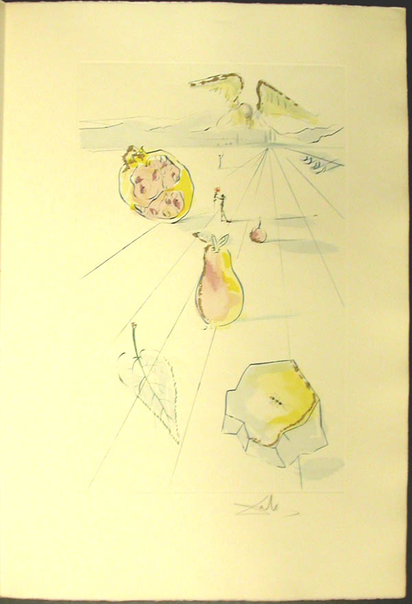 Salvador Dali - Song of Songs of Solomon - The Fruits of the Valley