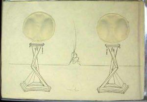 Salvador Dali - Dix Recettes d'Immortalite - Immortalite de Castor et Pollux