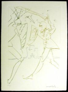Salvador Dali - La Quete du Graal - The Pass of Gadalore