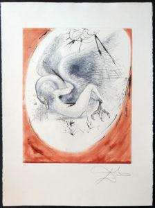 Salvador Dali - The Mythology - Leda and the Swan