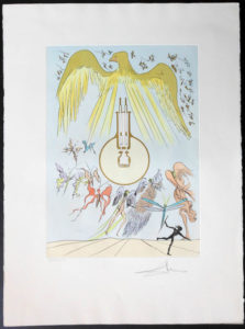 Salvador Dali - Hommage to Leonardo da Vinci - Light Bulb
