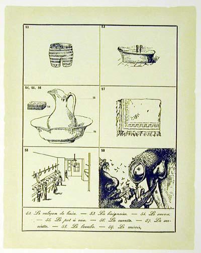 Salvador Dali - Les Metamorphoses Erotiques - Untitled