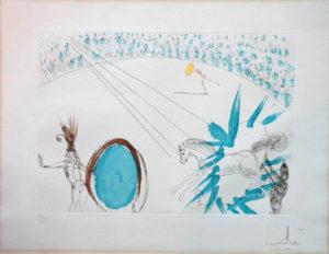 Salvador Dali - Le Cirque - Manege