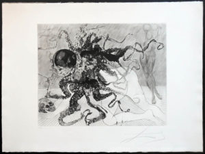 Salvador Dali - The Mythology - Medusa