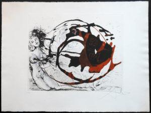Salvador Dali - The Mythology - Milky Way