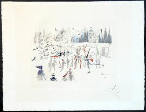 Salvador Dali - Tauromachie Surrealiste (Bullfight III) - The Mills