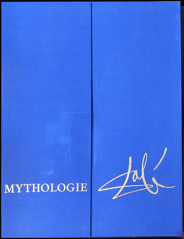 Salvador Dali - The Mythology - Portfolio Case