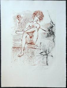 Salvador Dali - The Mythology - Narcissus
