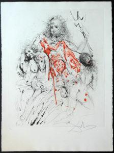 Salvador Dali - The Mythology - Neptune