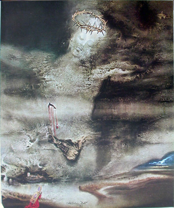 Salvador Dali - Paternoster - Intro Plate
