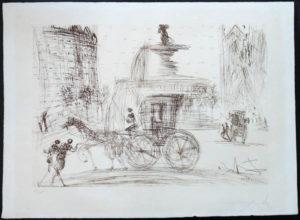 Salvador Dali - New York City - Plaza Fountain