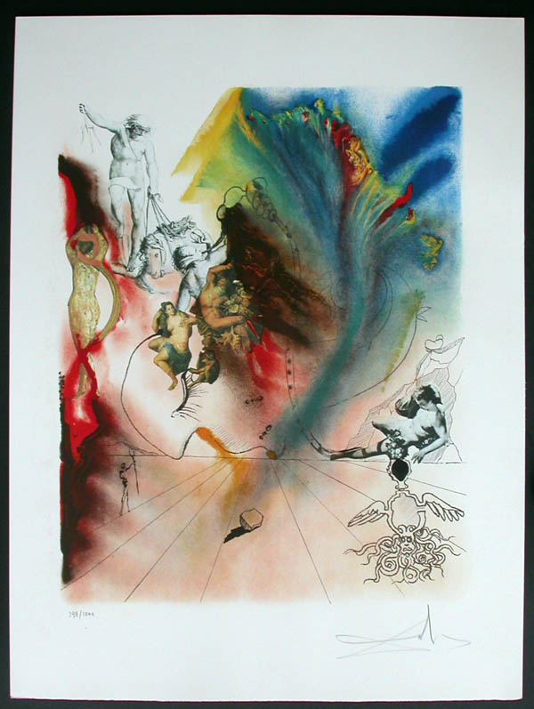 Salvador Dali - Four Dreams of Paradise - Romantic