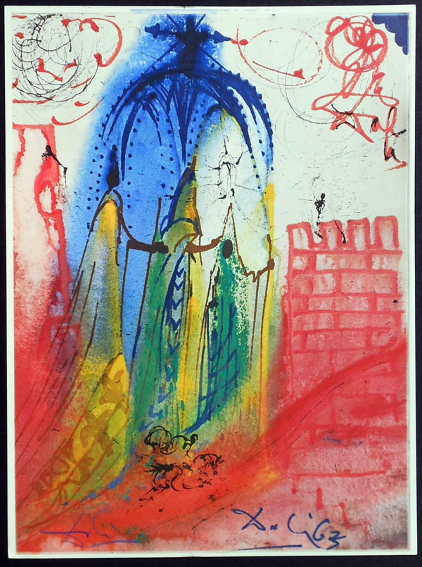 Salvador Dali - Romeo and Juliet - Romeo2a.jpg