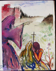 Salvador Dali - Romeo and Juliet - Romeo4.jpg