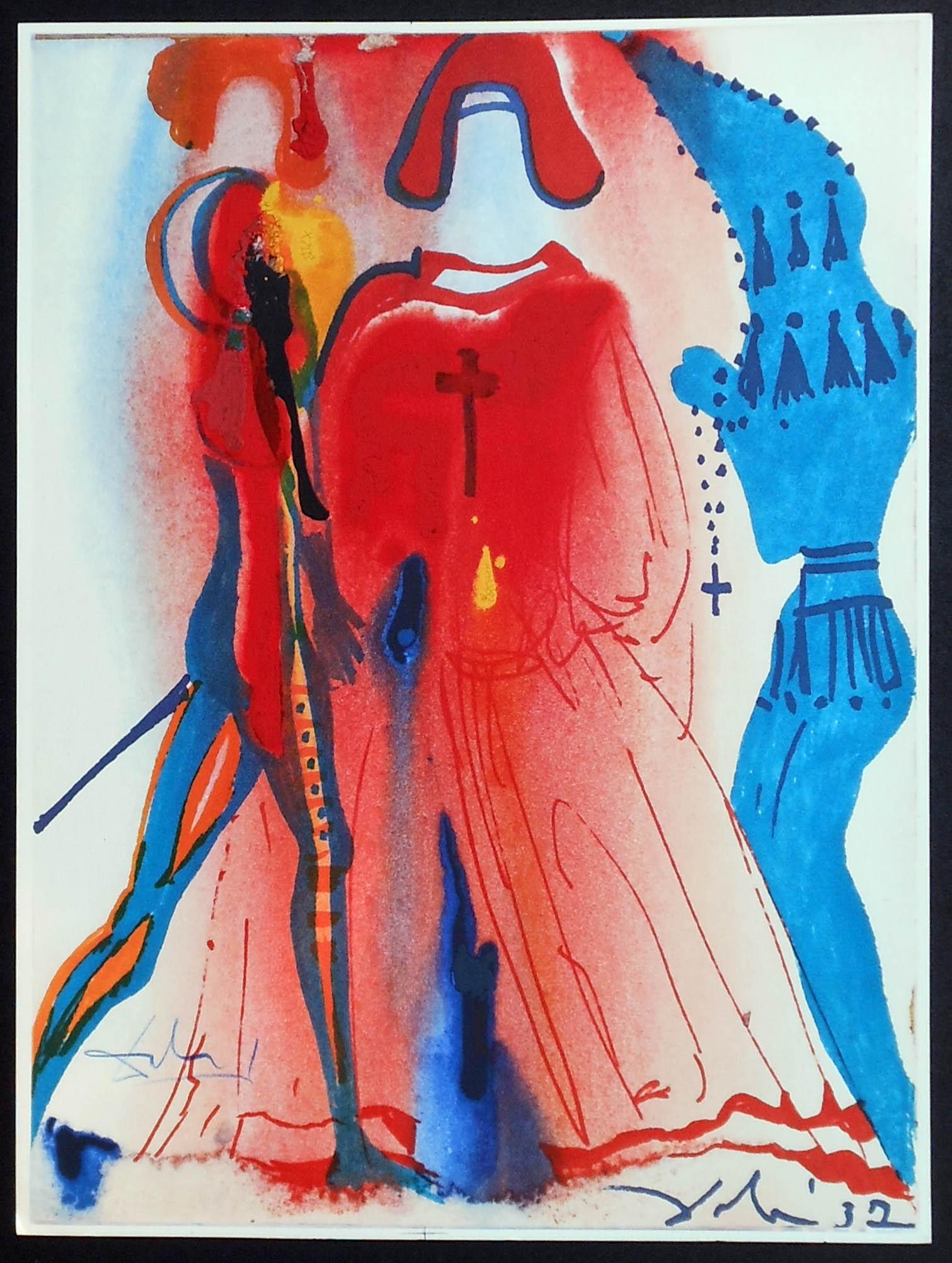 Salvador Dali - Romeo and Juliet - Romeo5a.jpg