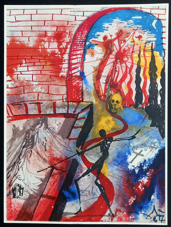 Salvador Dali - Romeo and Juliet - Romeo8a.jpg