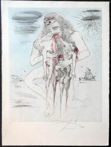 Salvador Dali - The Mythology - Saturn