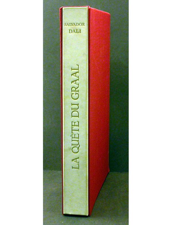 Salvador Dali - La Quete du Graal - Portfolio Case