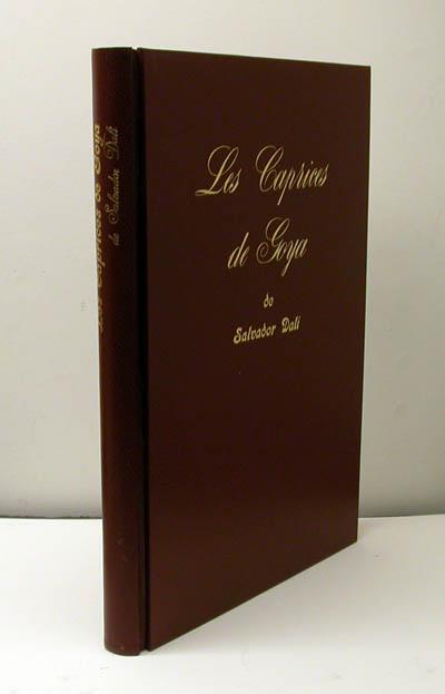 Salvador Dali - Les Caprices de Goya - Slipcase