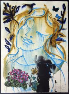 Salvador Dali - The Seasons, Les Saisons - Spring