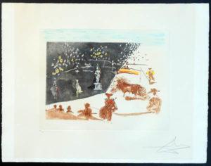 Salvador Dali - Tauromachie Surrealiste (Bullfight III) - The Statue