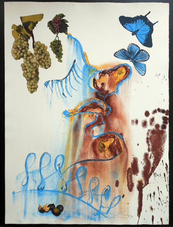 Salvador Dali - The Seasons, Les Saisons - Summer