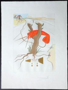 Salvador Dali - Hommage to Leonardo da Vinci - Telephone