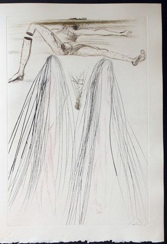 Salvador Dali - Tristan et Iseult - The Giant Beliagog