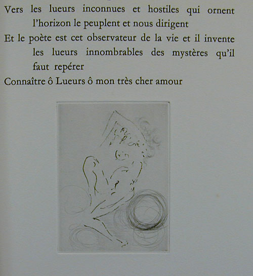 Salvador Dali - Secret Poems by Guillaume Apollinaire - From the War 1914 - 1918