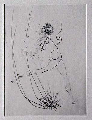 Salvador Dali - Les Amours de Cassandre - vignette