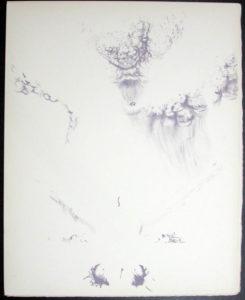 Salvador Dali - Don Quichotte de la Mancha, Book A - 1957 - L'ere atomique The atomic era - #8