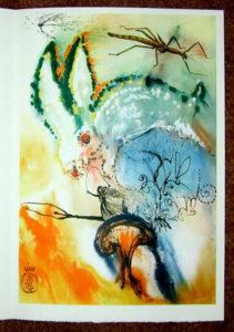 Salvador Dali - Alice in Wonderland - Down the Rabbit Hole