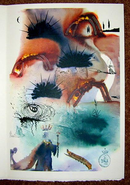 Salvador Dali - Alice in Wonderland - The Lobster Quadrille