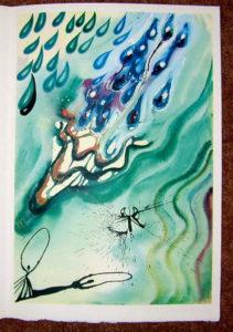 Salvador Dali - Alice in Wonderland - The Pool of Tears