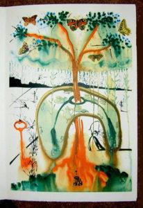 Salvador Dali - Alice in Wonderland - A Mad Tea Party