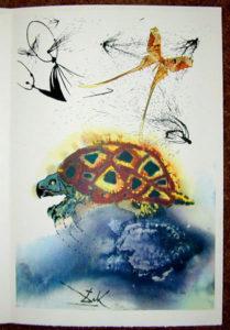 Salvador Dali - Alice in Wonderland - The Mock Turtle's Story