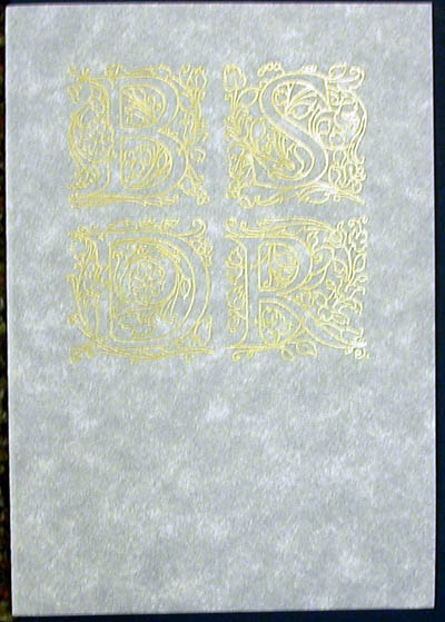 Salvador Dali - Biblia Sacra - Certificate of Authenticity
