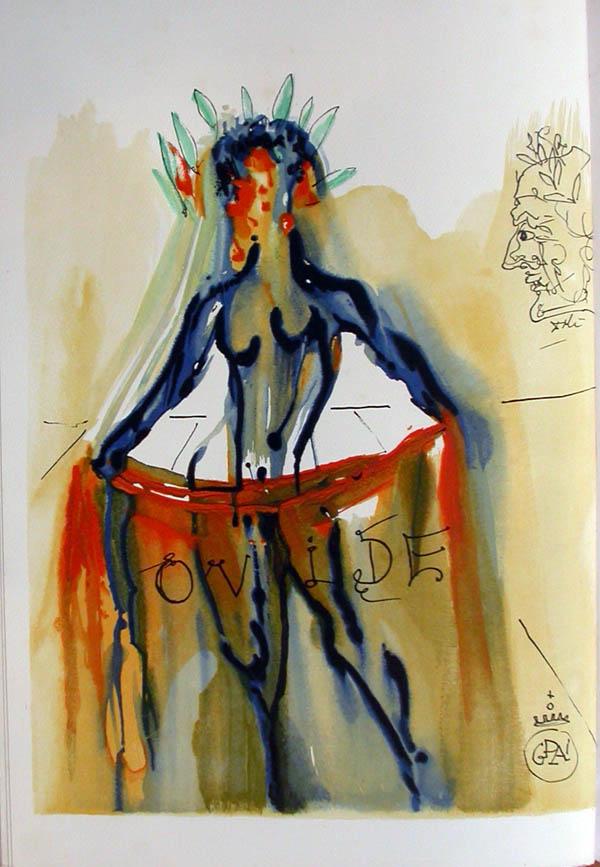Salvador Dali - L'Art d'Aimer - Ovide - C