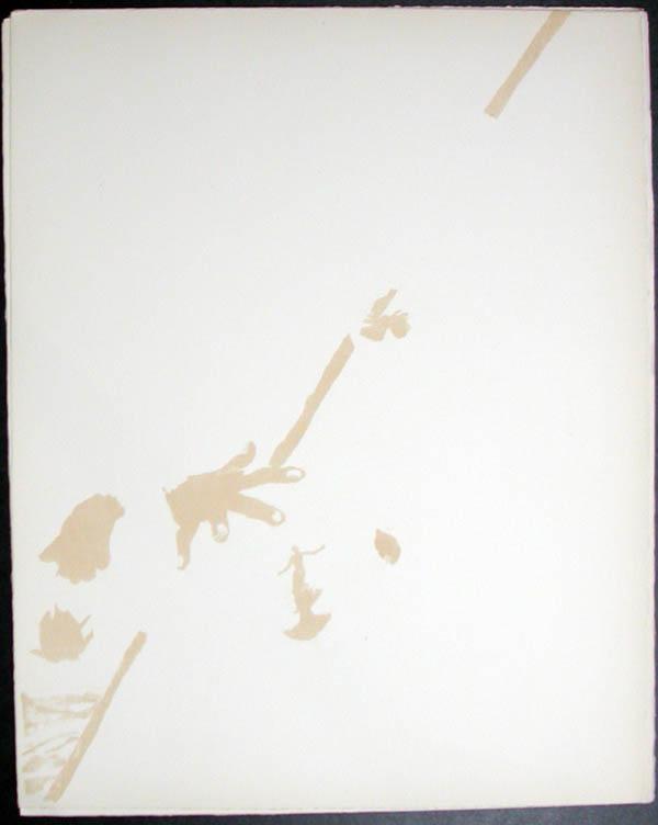 Salvador Dali - Don Quichotte de la Mancha, Book A - 1957 - Don Quichotte Accable Don Quichotte Overwhelmed - #5