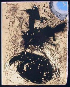 Salvador Dali - Pages choisies de Don Quichotte de la Mancha - The Visions